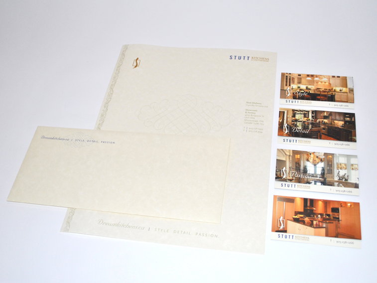 Stutt Kitchens Stationery