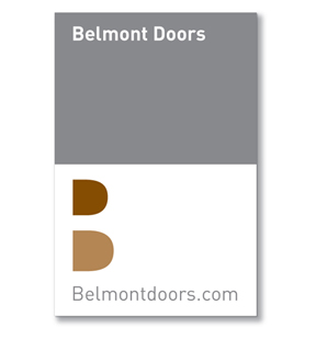 Belmont Doors Sign