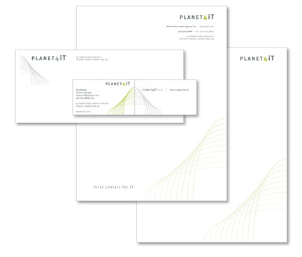 Planet4iT Stationery